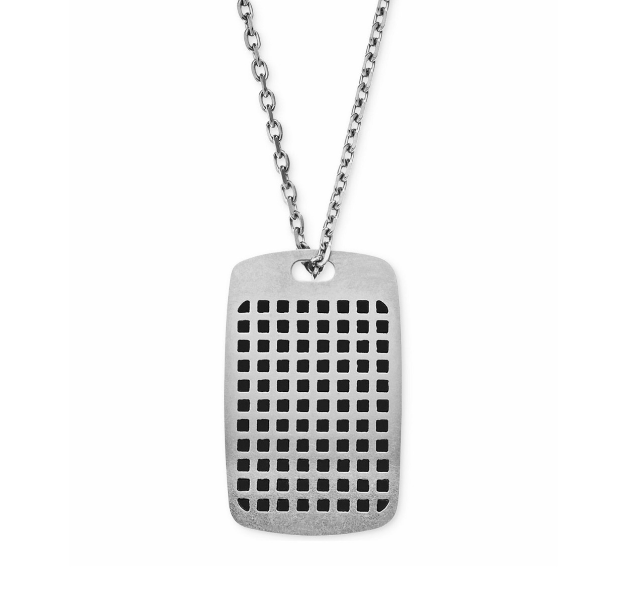 ★Emporio Armani★Men's Stainless Steel Dog Tag Necklace