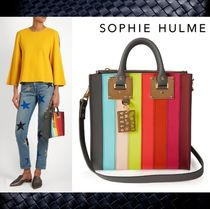 2017新作【SOPHIE HULME】Albion Square leather tote★トート