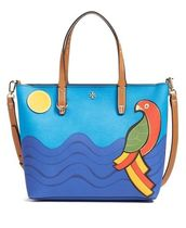 2way鳥モチーフ☆Tory Burch☆Kerrington Small Parrot Tote