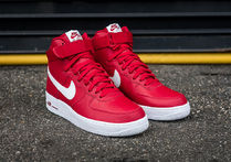 Nike Air Force 1 High (Gym Red/White/White)