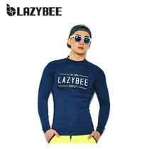 ラッシュガード ◆LAZYBEE◆Slim fit 1110 Man Rashguard - Navy (パンツ除外)