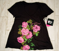 wildfox Tea Roses S/S Tee