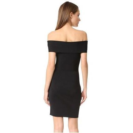 Alexander Wang 新作 Rib Knit Off Shoulder Dress 送料関税込