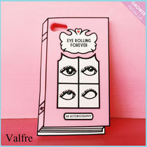 【Valfre】新作☆3D ピンクBOOK Eye Rolling iPhone7/7+ケース