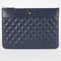 ★CHANEL最新作2017★MADEMOISELLE VINTAGE POUCH in Navy