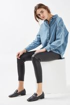 《はおってもクール♪》☆TOPSHOP☆MOTO Oversized Denim Shirt