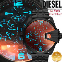 【2017 SS新作☆日本完売】DIESEL Uber Chief DZ7373 4Time Zone