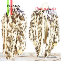 特価!! PRADA☆Eco Fur Leopardo Coat Size40 関税済即納