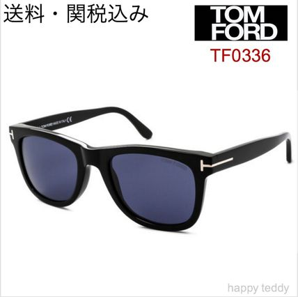 Shipping / Tom Ford sunglasses TF0336 black blue