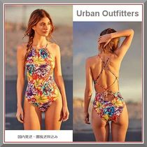 Urban Outfitters 新作! 花柄ハイネックワンピース水着 国内発送
