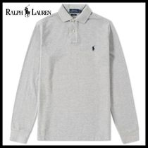 Ralph Lauren(ラルフローレン) ポロシャツ  NEW☆Ralph Lauren ラルフローレン LONG SLEEVE SLIM FIT POLO