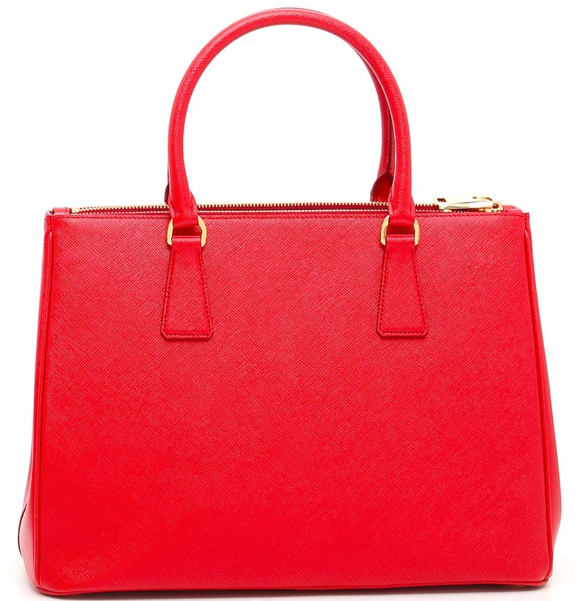 PR308 GALLERIA SAFFIANO LEATHER LARGE BAG