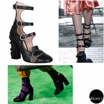 関税送料込GUCCI 2017RESORT LOOK72 Queercore DIONYUSUS PUMPS