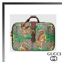 GUCCI(グッチ) バッグ・カバンその他 【17cruise新作国内発送】GUCCI ベンガルGG suitcase