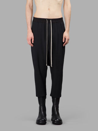 AW16 RICK OWENS CROPPED BAGGY PANTS the day