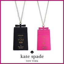 kate spade new york(ケイトスペード) ステーショナリ・事務 ★kate spade Whistle While You Work Leather ID Case★送料込