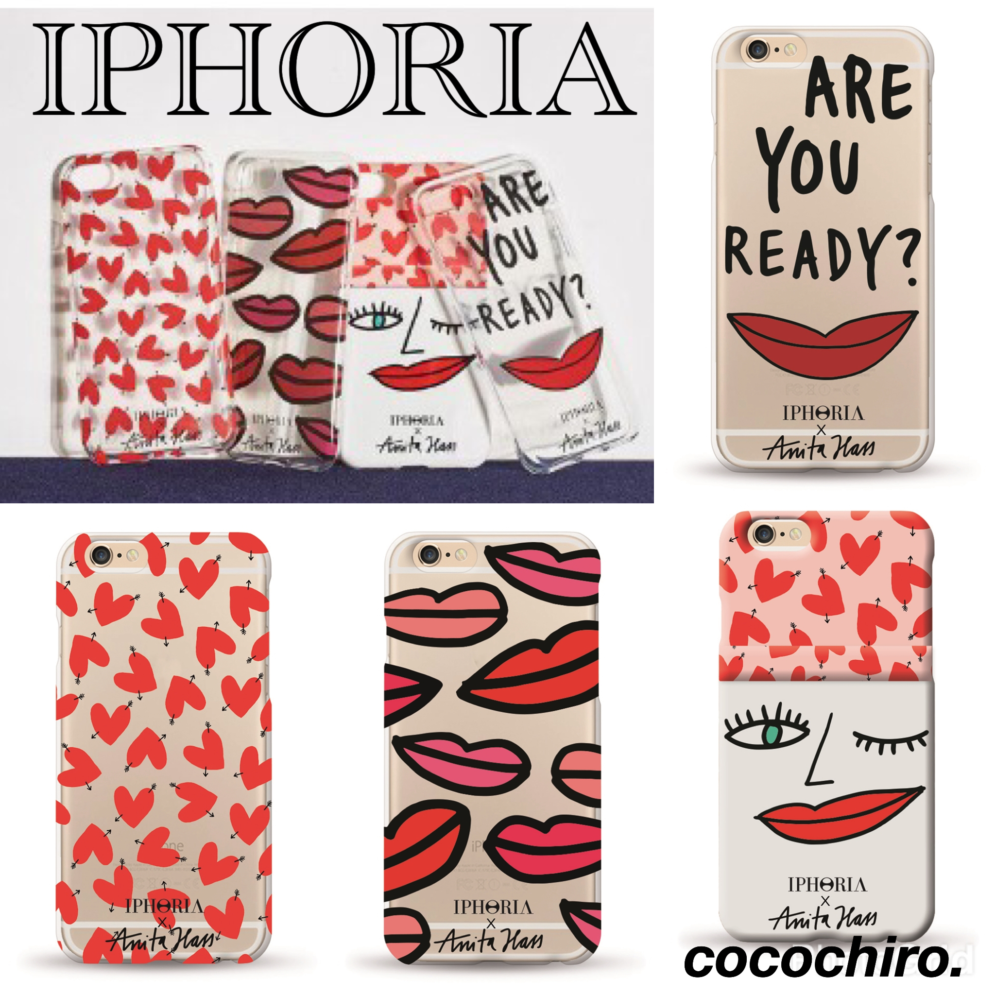 【国内発送】IPHORIA X Anita Hass★iPhone7/7Plus/6/6s♪♪