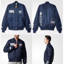 ADIDAS Men's Originals☆LOGO BOMBER JACKET AY8636