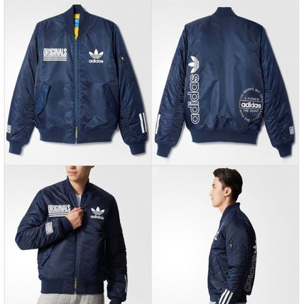 adidas ブルゾン ADIDAS Men's Originals☆LOGO BOMBER JACKET AY8636