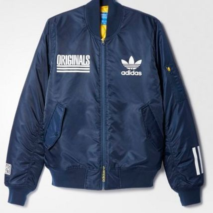adidas ブルゾン ADIDAS Men's Originals☆LOGO BOMBER JACKET AY8636(2)