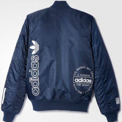 adidas ブルゾン ADIDAS Men's Originals☆LOGO BOMBER JACKET AY8636(3)