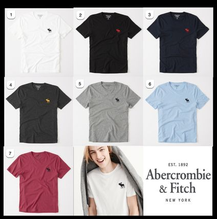 Abercrombie & Fitch Tシャツ・カットソー 2017春夏新作!Abercrombie & Fitch ベーシック Tシャツ