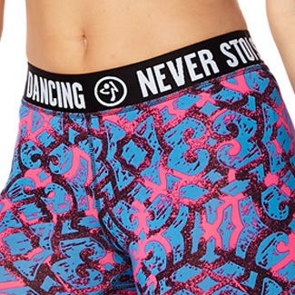 H29.1【ZUMBA】Dance Gypsy Ankle Leggings(Pink)Z1B00550SHPK