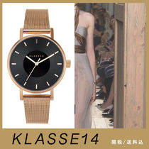 送関込【KLASSE14】VOLARE DARK ROSE/MESH BAND 36mm☆国発