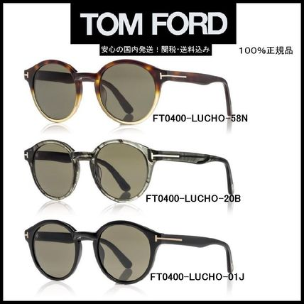 The most recent model round TOM FORD FT0400 LUCHO /