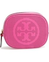Tory Burch(トリーバーチ) メイクポーチ トリーバーチ☆Perforated Leather Cosmetics Caseレザーポーチ