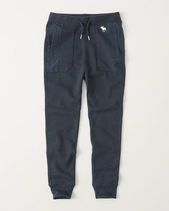 Abercrombie & Fitch ボトムス  新作 セール アバクロ・キッズ ボーイズ★ icon fleece joggers