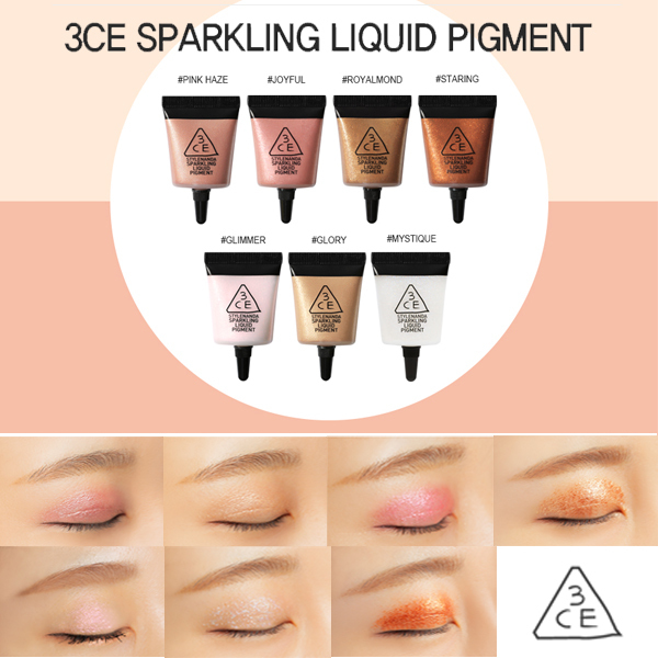 [NEW]3CE SPARKLING LIQUID PIGMENT _リキッドピグメント (7色)