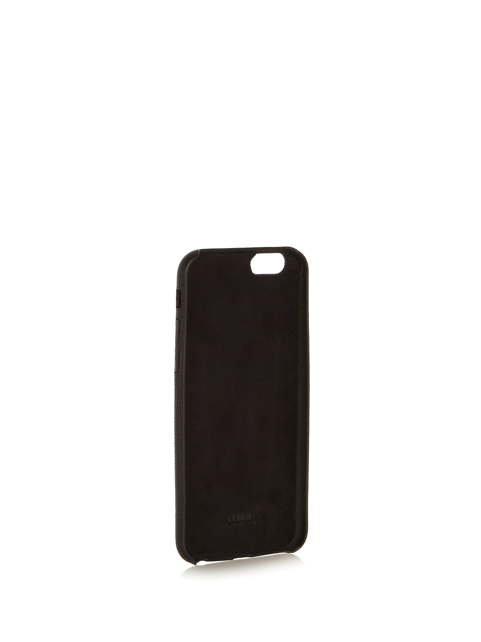 【SALE】I mink-fur and leather iPhone6 case