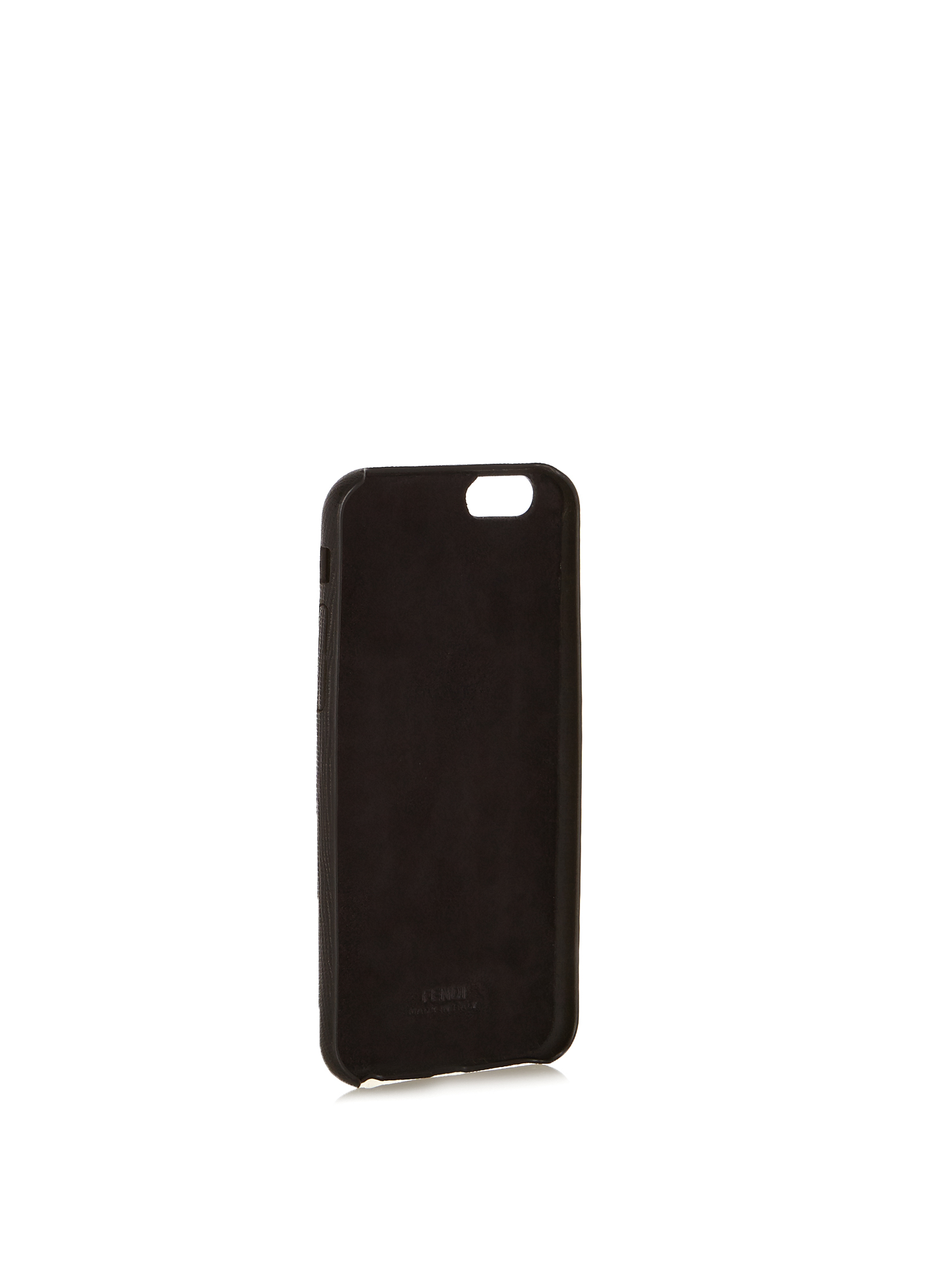 【SALE】O mink-fur and leather iPhone6 case