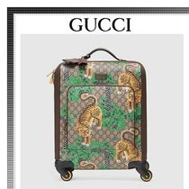 GUCCI(グッチ) バッグ・カバンその他 【17cruise新作国内発送】GUCCI Tian GG Supreme スーツケース