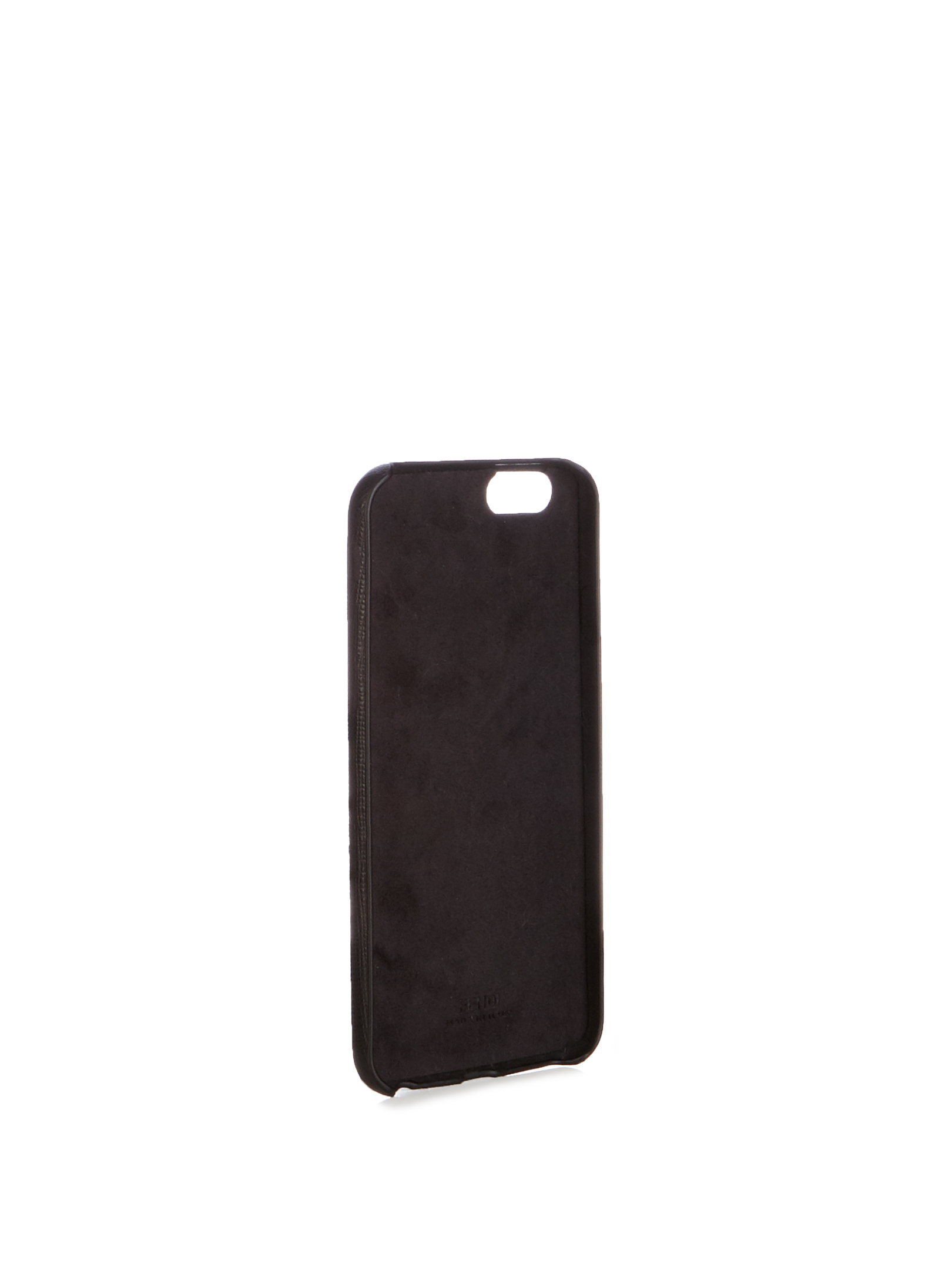 【SALE】J mink-fur and leather iPhone6 case
