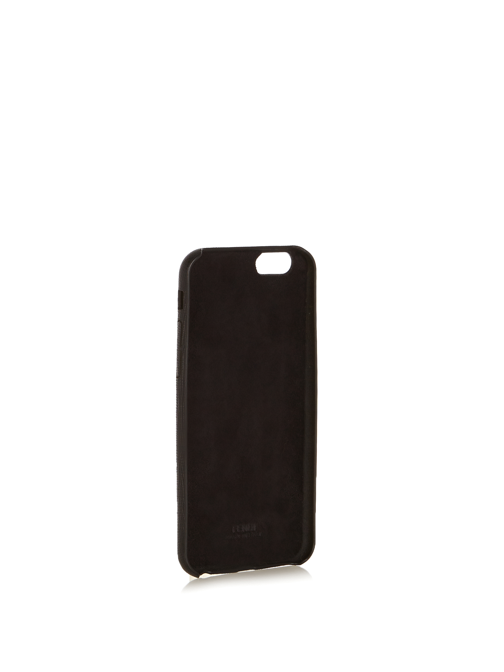 【SALE】M mink-fur and leather iPhone6 case
