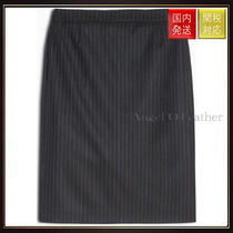 Max&Co.(マックス&コー) ミニスカート 【MAX&Co】Skirt in stretch fabric CANARINO Midnight Blue