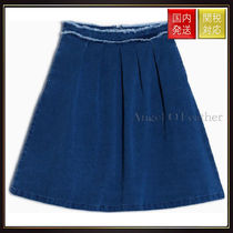 Max&Co.(マックス&コー) ミニスカート 【MAX&Co】Denim swing skirt DECAGONO Midnight Blue