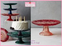 Anthropologie(アンソロポロジー) 食器(皿) 17SS☆最安値保証*関税送料込【Anthro】Color Cut Cake Stand