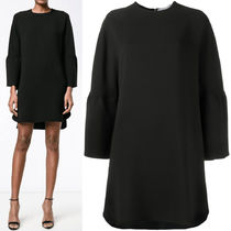17SS V618 CADY COUTURE MINI DRESS WITH BELL SLEEVE