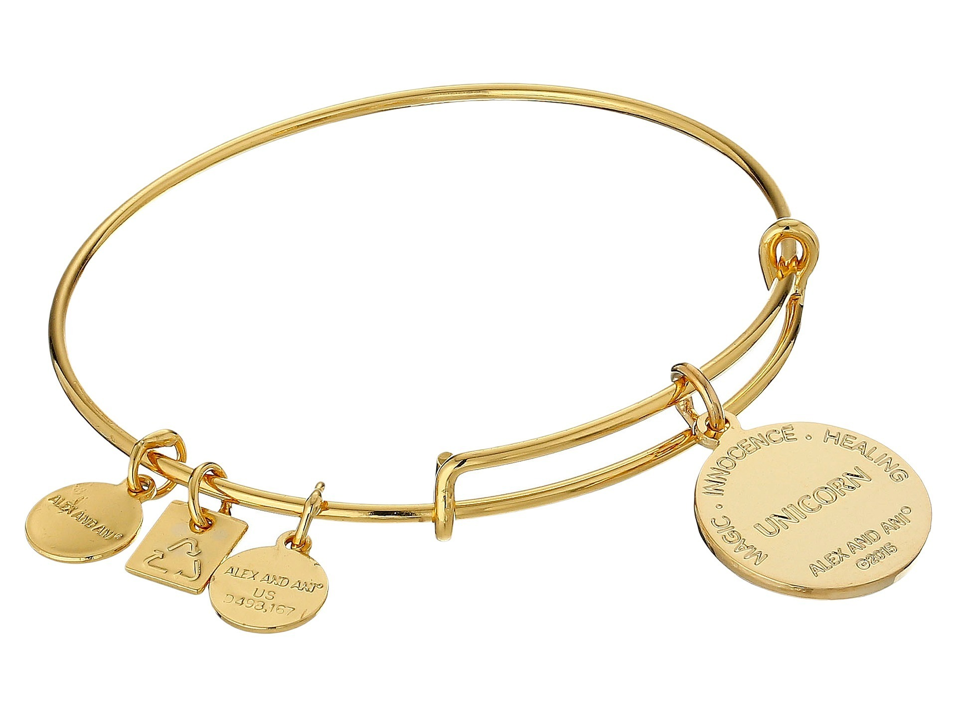 【大人気】Charity by Design Unicorn Charm Bangle バングル