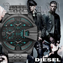 ★レアモデル★DIESEL Uber Chief Black Dial DZ7372