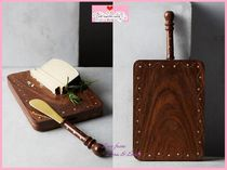 Anthropologie(アンソロポロジー) 食器(皿) 17SS*最安値*関送料込【Anthro】Confiture Cheese Board & Knife