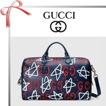 GUCCI(グッチ) ボストンバッグ 【17cruise新作国内発送】GUCCI Ghost duffle