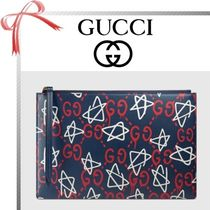 GUCCI(グッチ) 雑貨・その他 【17cruise新作国内発送】GUCCI Ghost pouch 赤×白