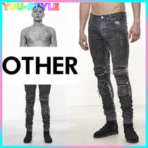 三代目登坂 愛用 【Other UK】 V2 ROADWORN BIKER JEAN