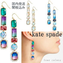 kate spade new york(ケイトスペード) イヤリング・ピアス ◆関税込み◆kate spade*color crush linear*ドロップピアス