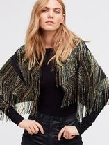 Free People(フリーピープル) ポンチョ・ケープ ☆フリーピープル☆Midnight Special Embellished Cape