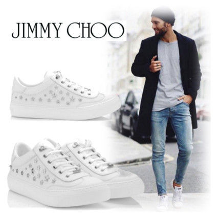 Jimmy Choo ACE sports calf sneaker